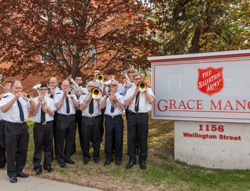 Senior Band Ministry: A real and relevant Salvation Army.