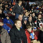More of the group from The Salvation Army Barrhaven Church that attended the Ottawa 67's game.