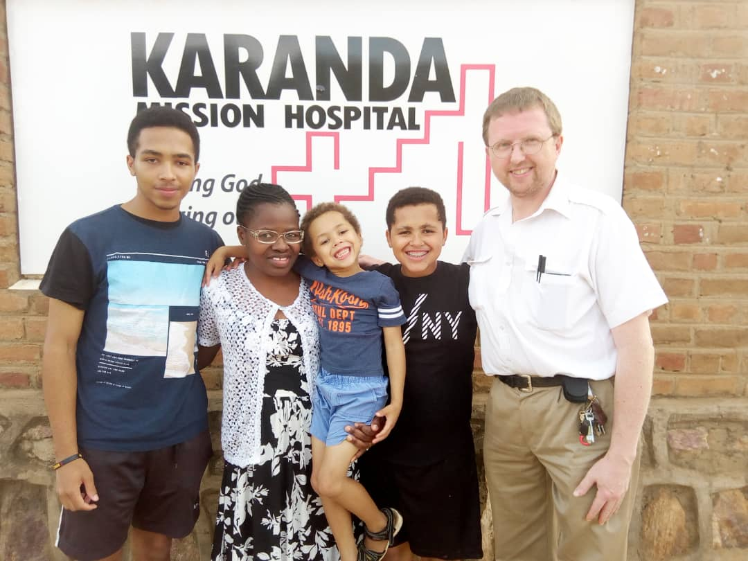 """Karanda Mission Hospital Dr. and family"""