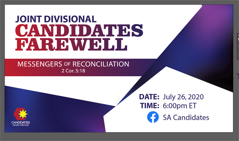 Joint Divisional Candidates Farewell – July 26